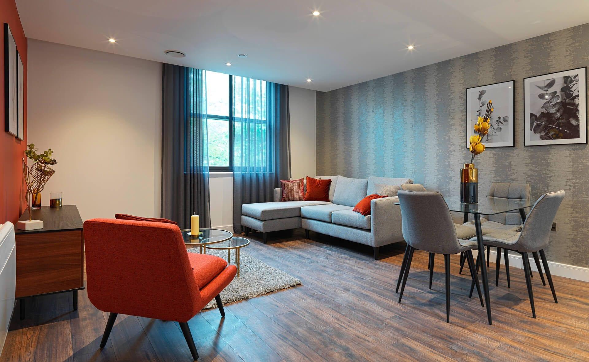 New Eton House Living room