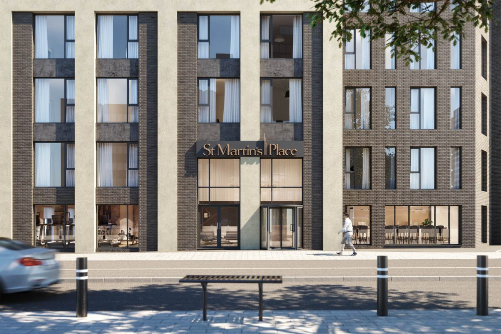 St Martin's Place - Birmingham's first hotel-serviced apartment development
