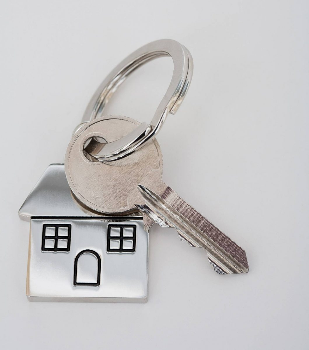 private rented sector - house keyring
