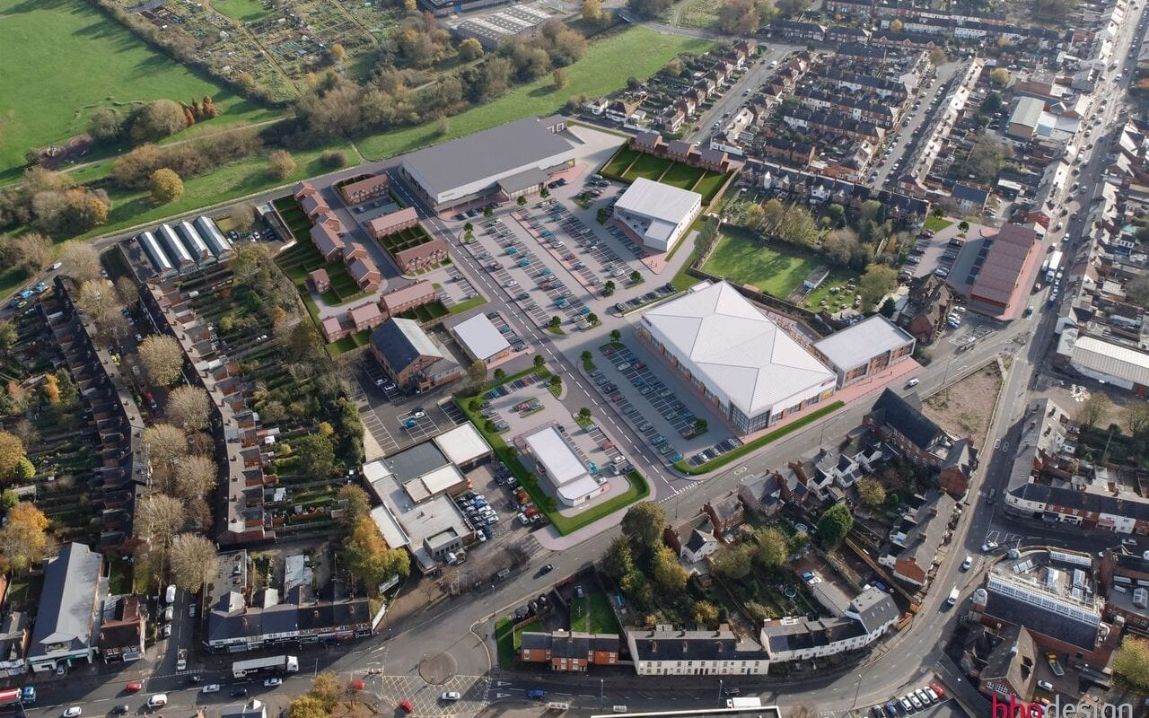 Green light for new homes and retail in Stirchley