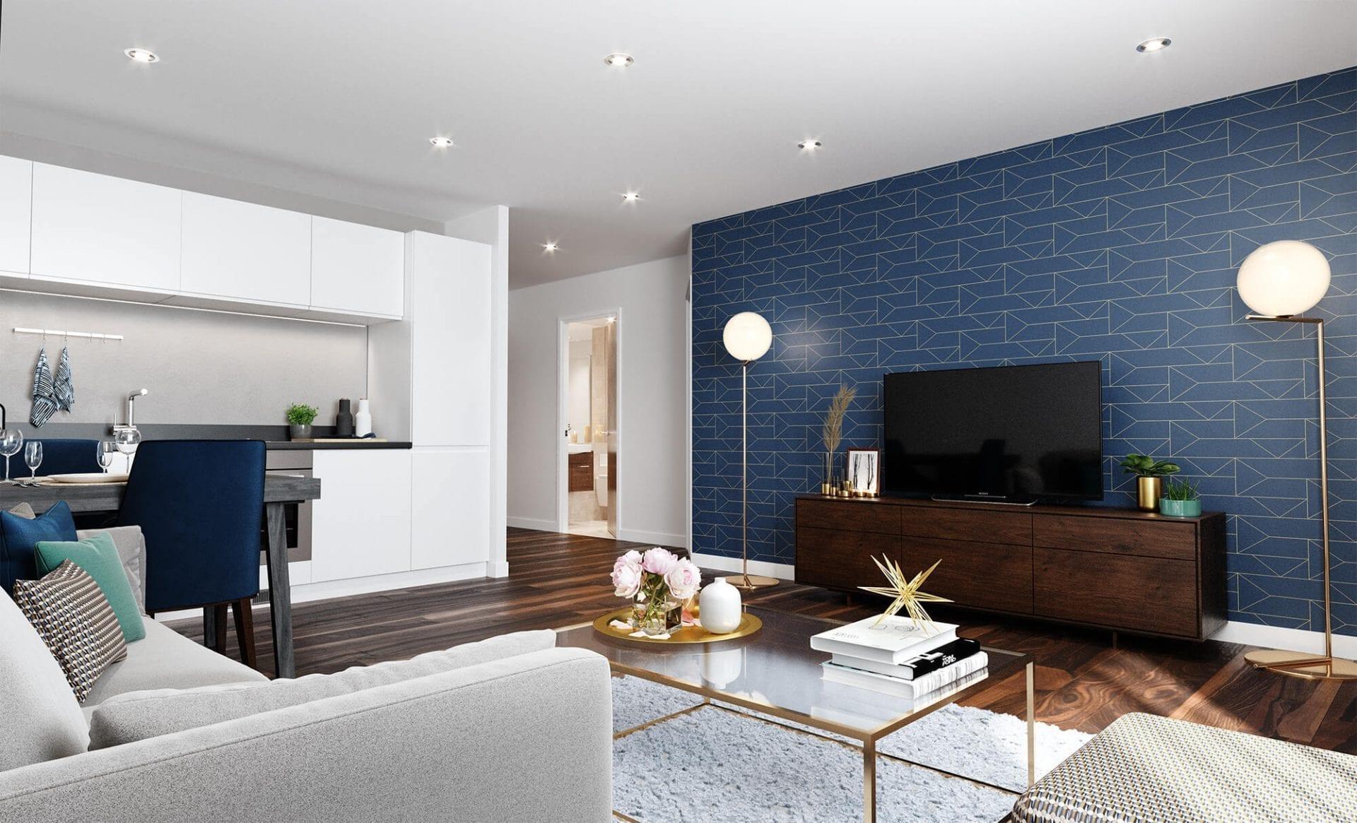 New Eton House Apartment Lounge