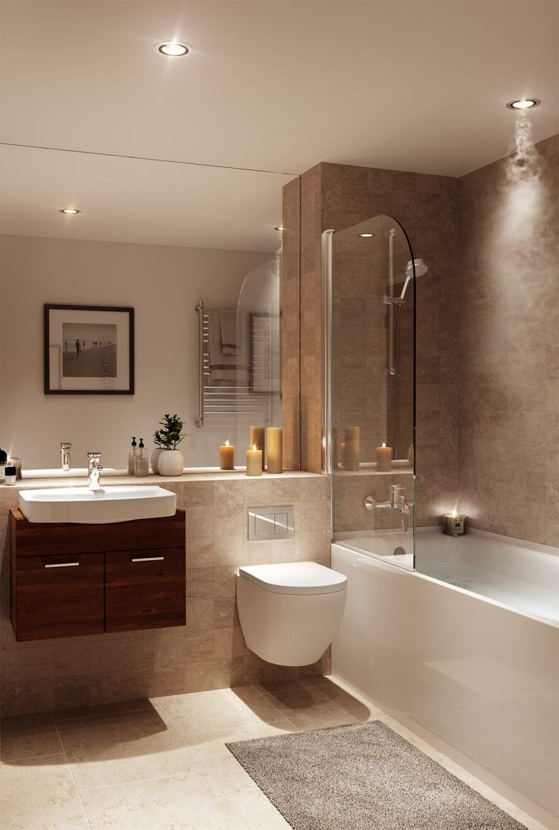 Bathroom New Eton House