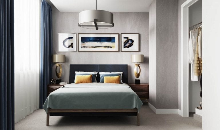 Bedroom New Eton House