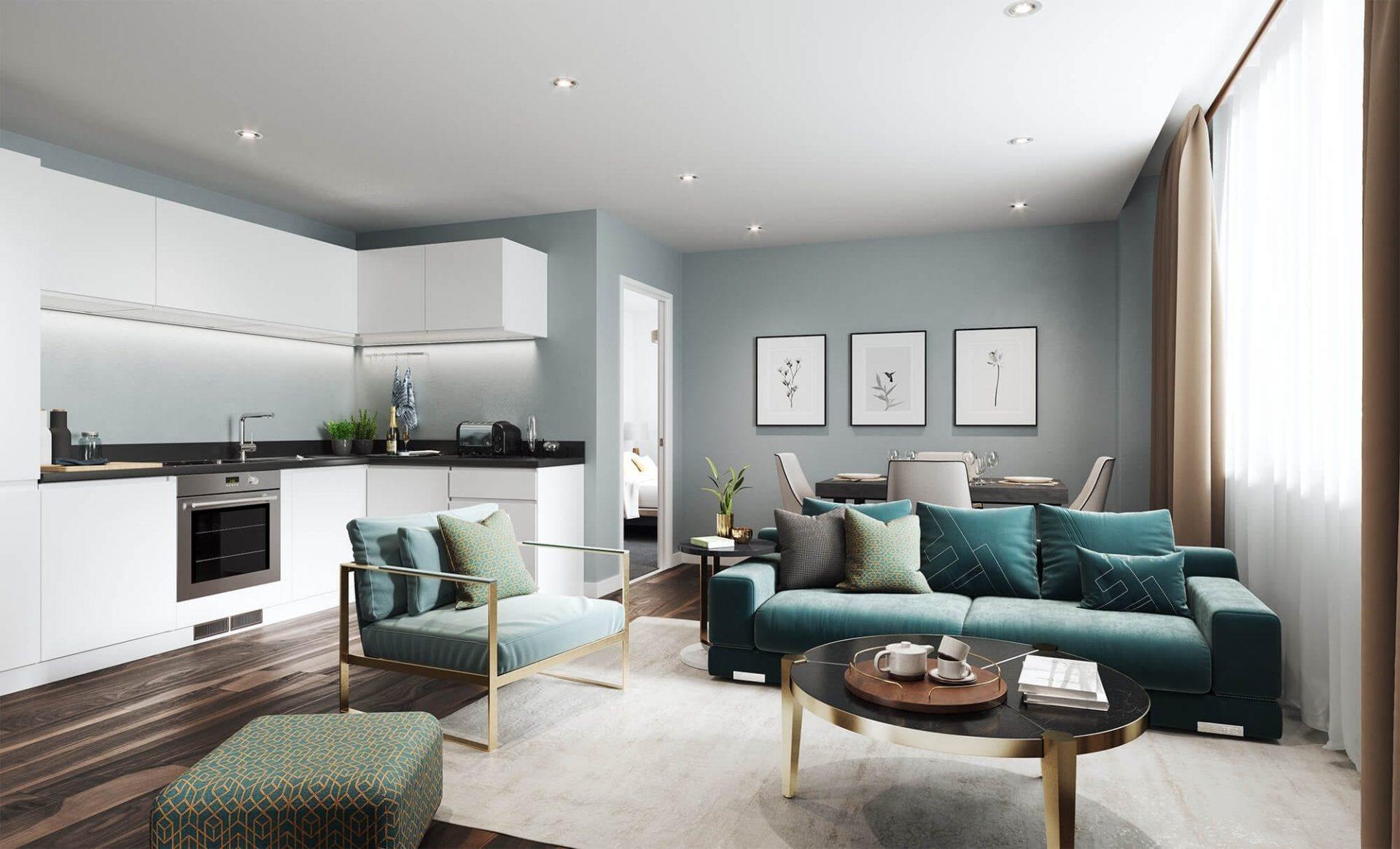Living room New Eton House