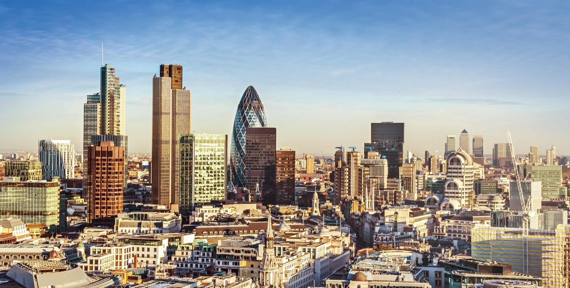 UK Property Investment London Skyline