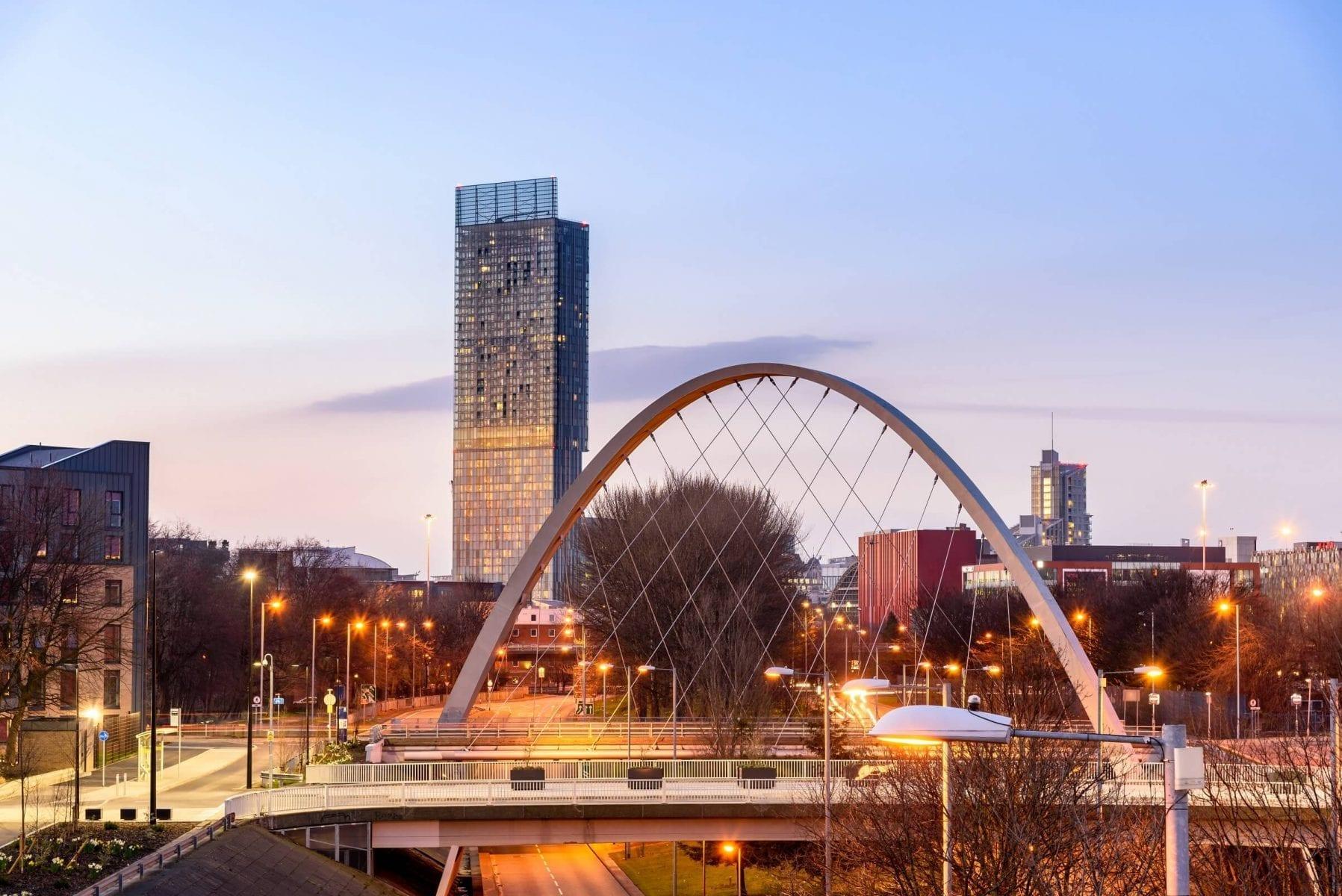Manchester Hulme Bridge