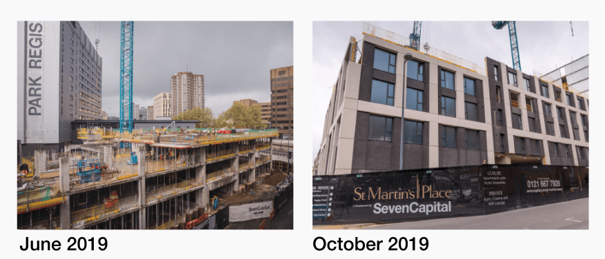 St Martin's Place Project Update