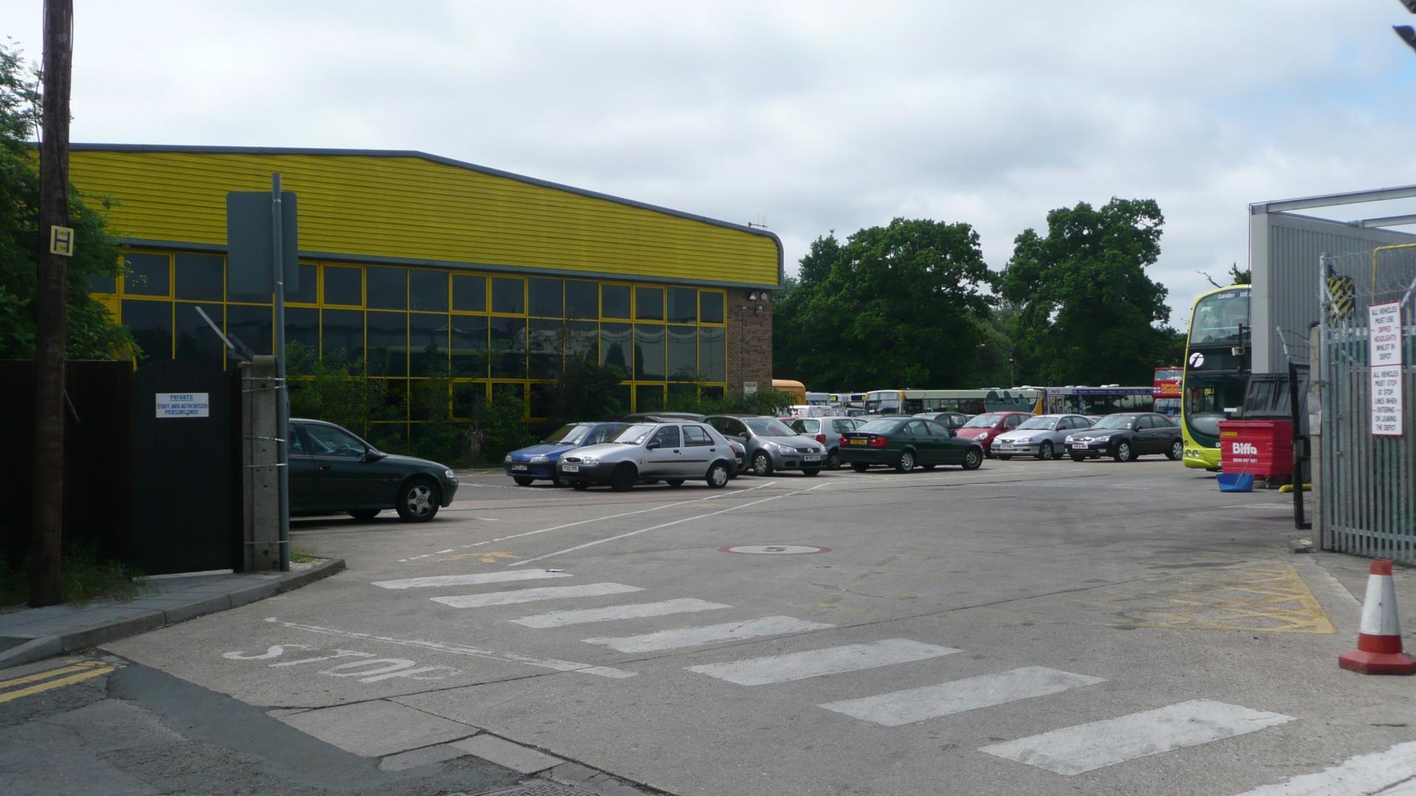 Bracknell Bus Depot