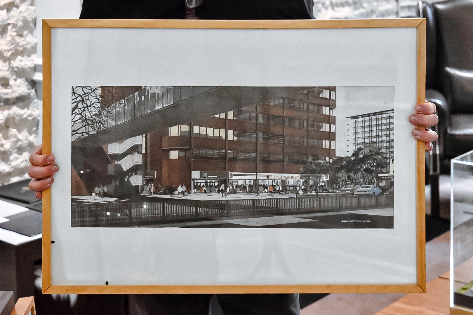 original artist impressions of 105 broad street