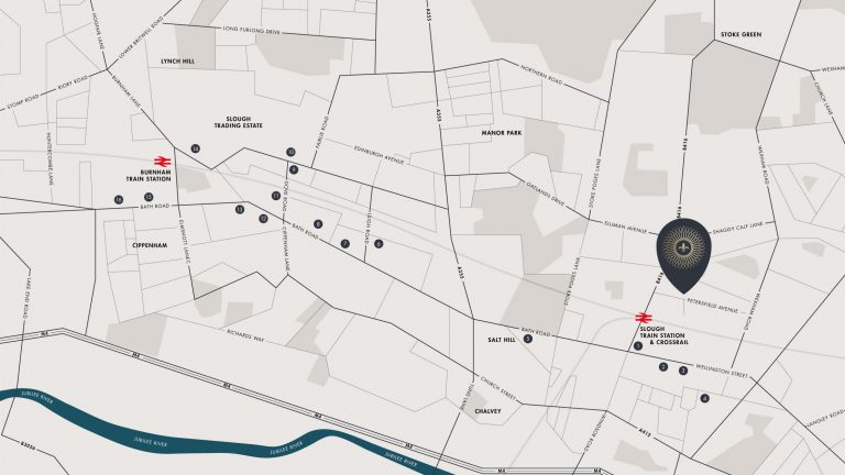 Metalworks map