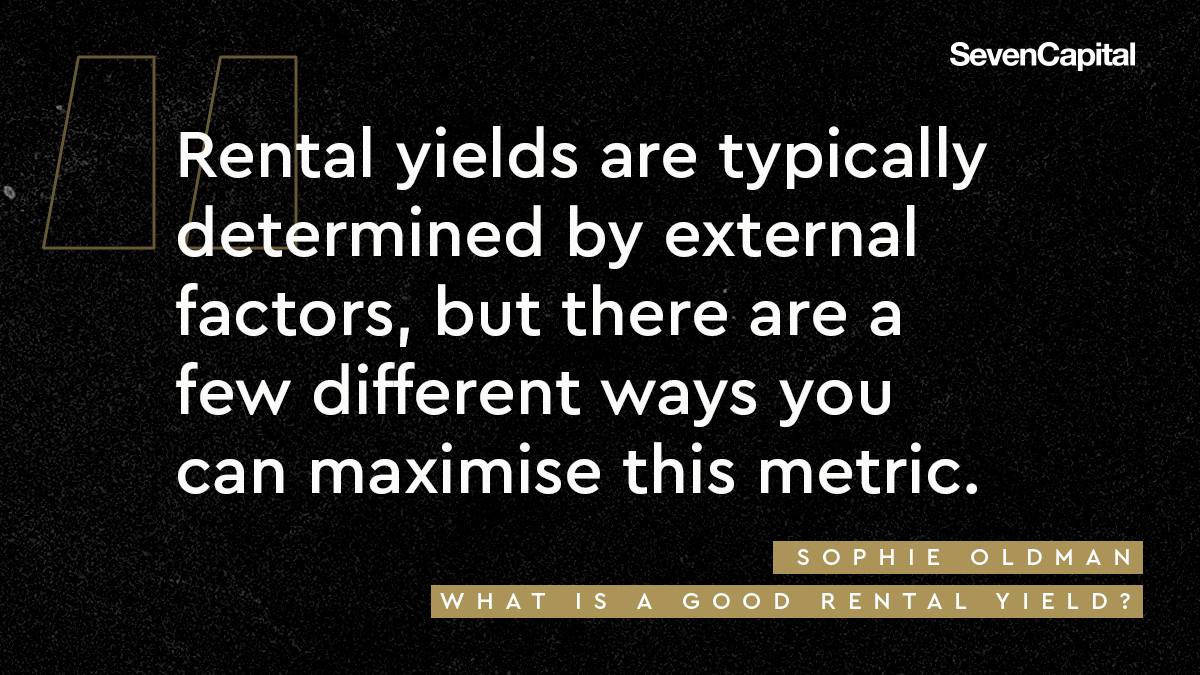 what is a good rental yield